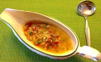 Salsa Vinagreta de verduras
