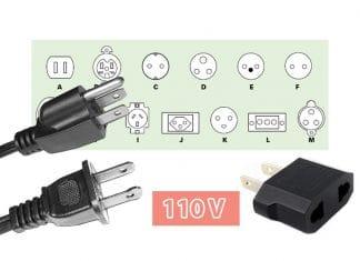 Quelle est le voltage électrique à Cuba et quel genre de prises sont utilisées?