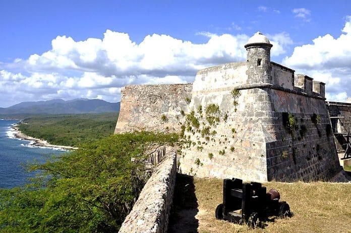 Le château de San Pedro de la Roca